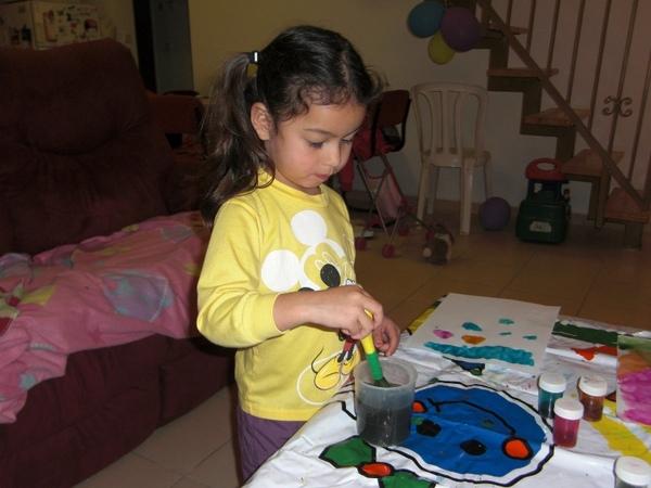 姐姐玩水彩3