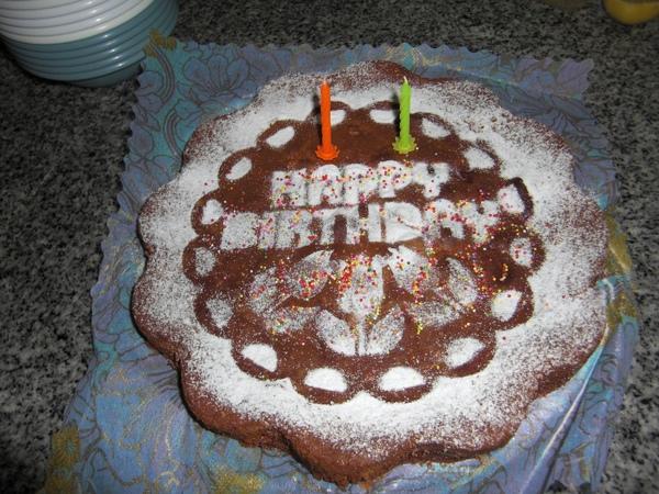 婆婆的愛心蛋糕