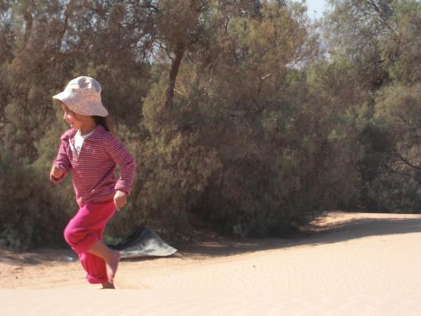 冬天的沙丘玩耍10