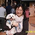 美女LISA&愛犬阿醜