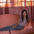 貴妃椅上的蕾莉