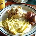 A餐~粉鹹的香腸