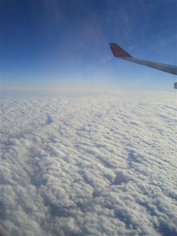 雲層雖然厚了一點
