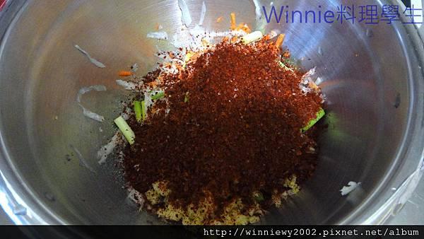 韓式蘿蔔絲泡菜3
