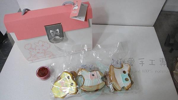 收涎餅乾之包裝及熱情歐援的收涎趴CUPCAKE10