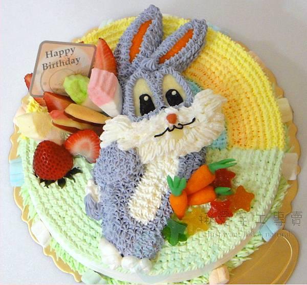 2D兔子造型蛋糕1-8