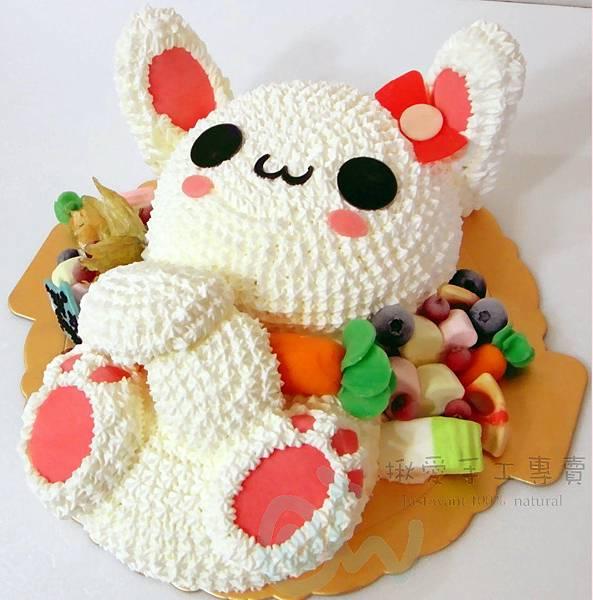 3D兔子造型1-3