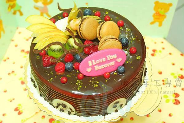 馬卡龍焦糖情人蛋糕