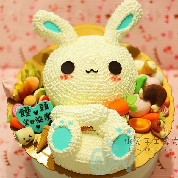 3D兔+雞腿-1A