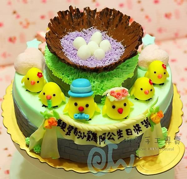 客製雞新郎新娘+4雞&6蛋-2A
