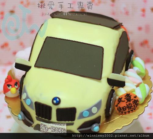 白色BMW X6巧克力拷漆造型(顏色可自選)