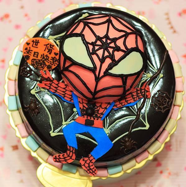 2D蜘蛛人+巧克力淋面20130405-1.JPG