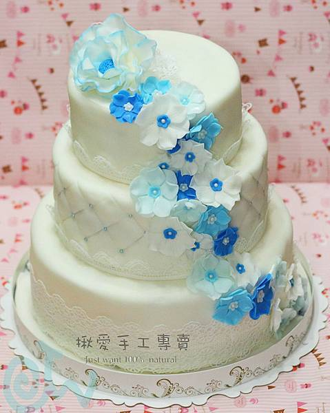 翻糖結婚蛋糕20130907-1A.jpg
