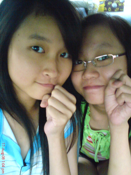 我和姐姐~