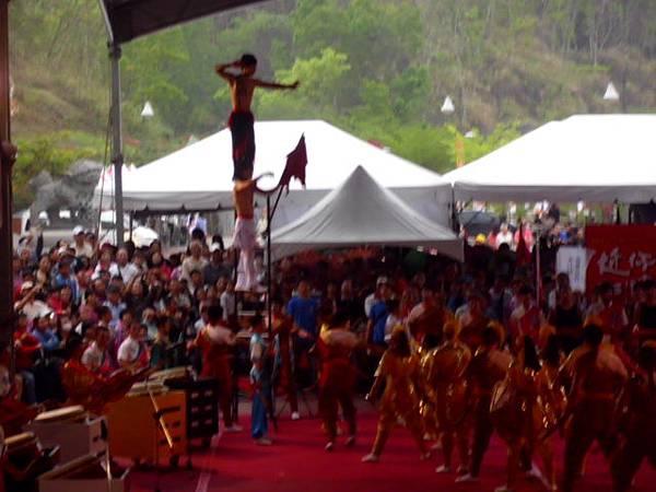 高雄內門創意宋江大賽台灣戲曲學院令旗登天梯