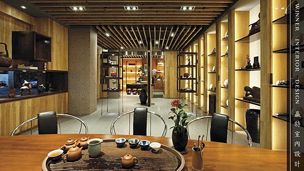 台中商業空間設計-長江藝術