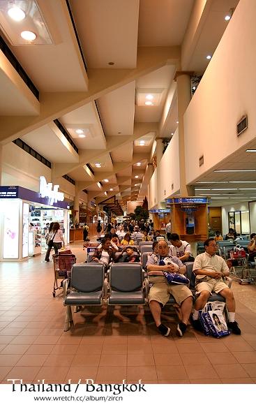 泰國曼谷機場一隅
