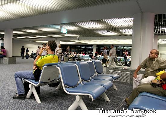 泰國曼谷機場候機室