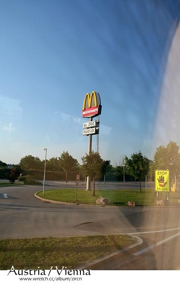 車上抓麥當勞