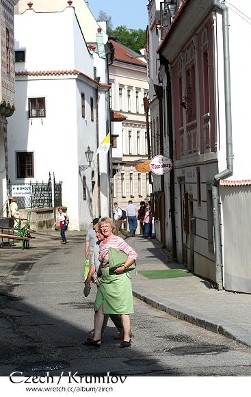 庫倫洛夫的街道