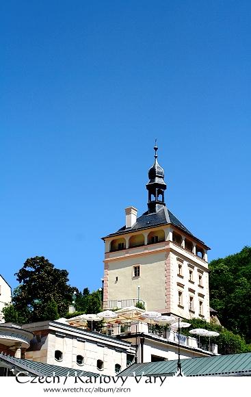 Karlovy Vary的天空好美^^
