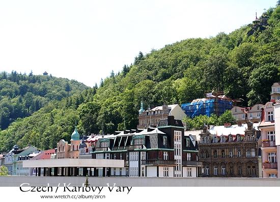 Karlovy Vary一隅