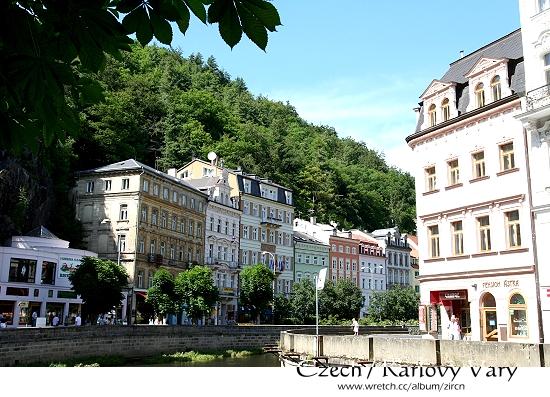 Karlovy Vary街道一隅