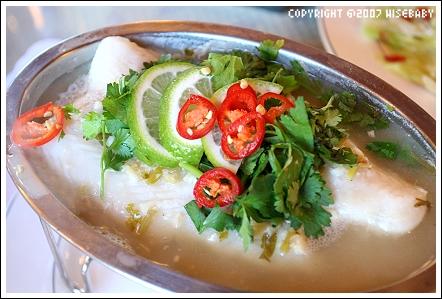 餐點-檸檬香清蒸鮮魚