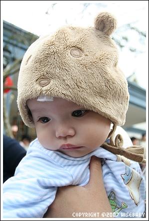 謝謝碩桀提供的可愛帽子