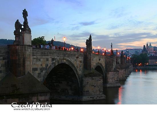 黃昏中的查理士橋