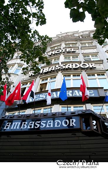 睡三晚的Ambassador Hotel