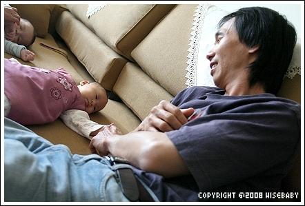 晴晴與爸爸