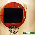 籃球造型電視