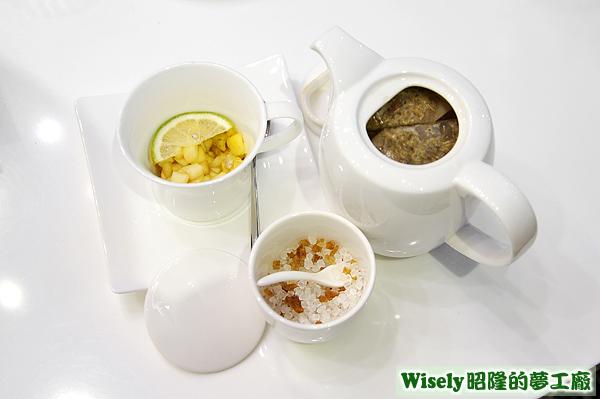 洋柑菊荔枝蘋果茶(熱)