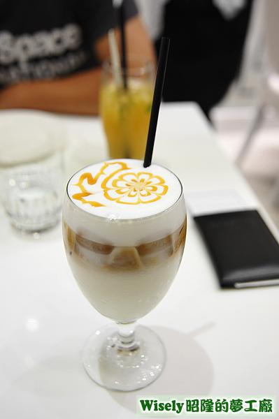 焦糖瑪其朵咖啡(冰)
