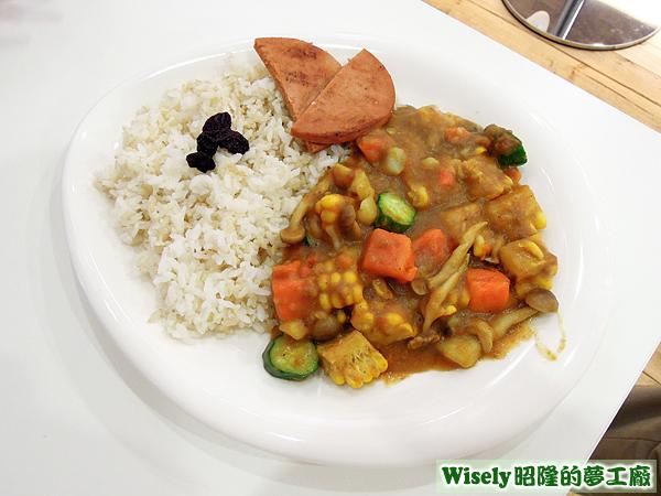 暖暖時蔬咖哩飯