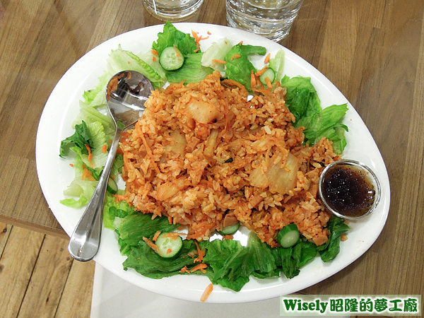 韓式泡菜米飯煎