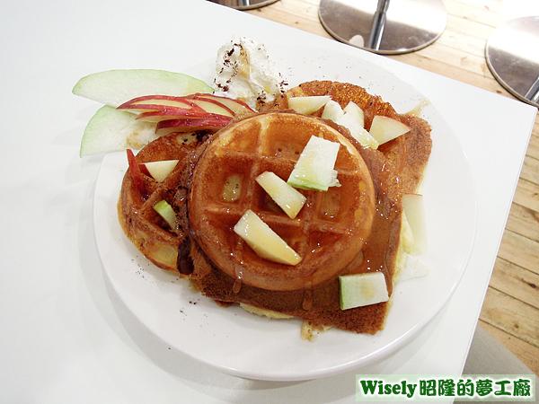 日式原味鬆餅