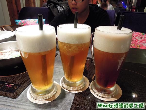 蜂蜜綠茶、水舞綠茶、水舞紅茶
