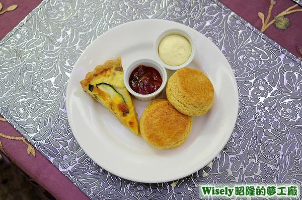 鹹派、Scone司康(草莓/卡士達)