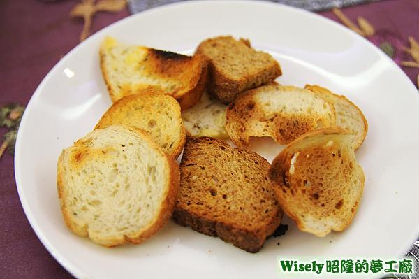 普羅旺斯麵包、高纖全麥麵包