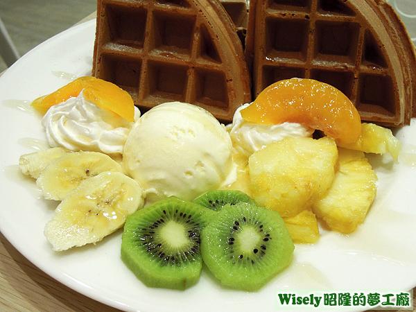 季節水果鬆餅
