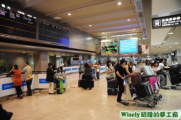 成田空港第二航廈