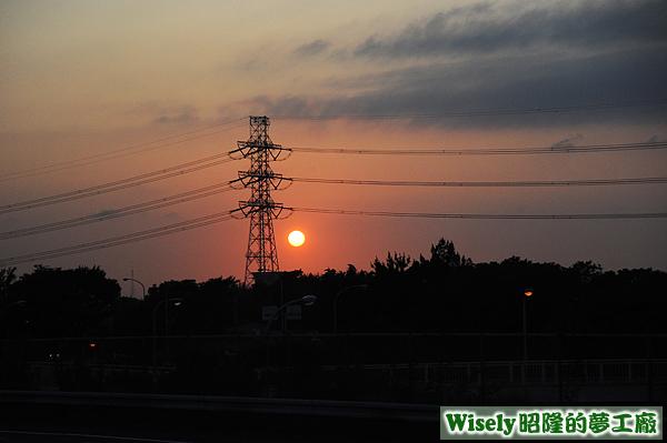 千葉縣夕陽