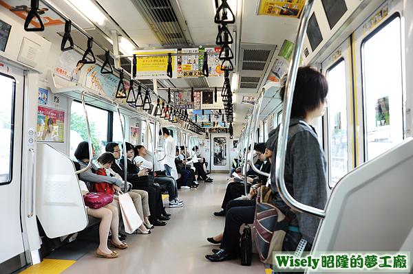 JR東日本(山手線)車廂