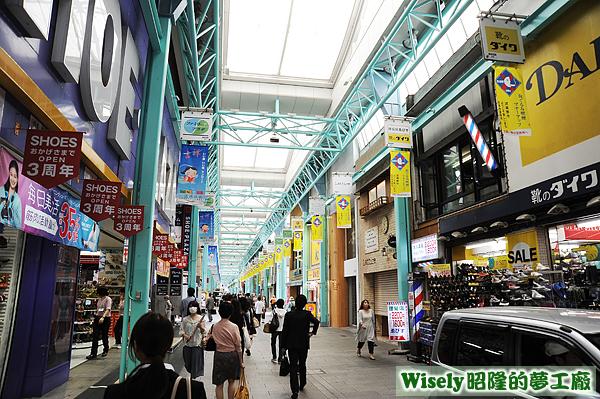 吉祥寺サンロード商店街(kichijoji SUNROAD 一店逸品街)