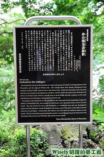 井の頭池遺跡群