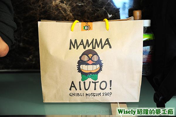 三鷹の森ジブリ美術館紙袋