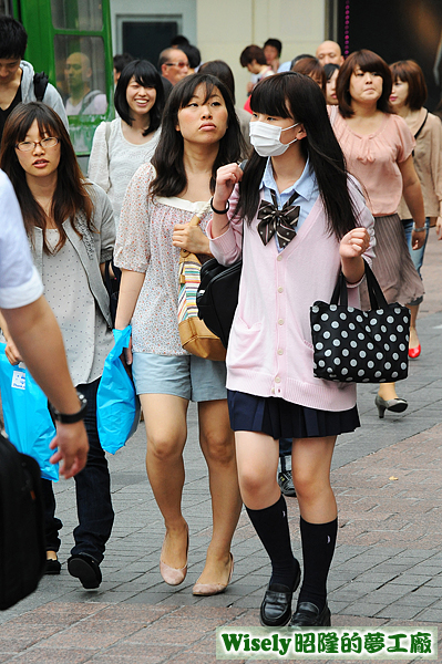 日本高校女學生