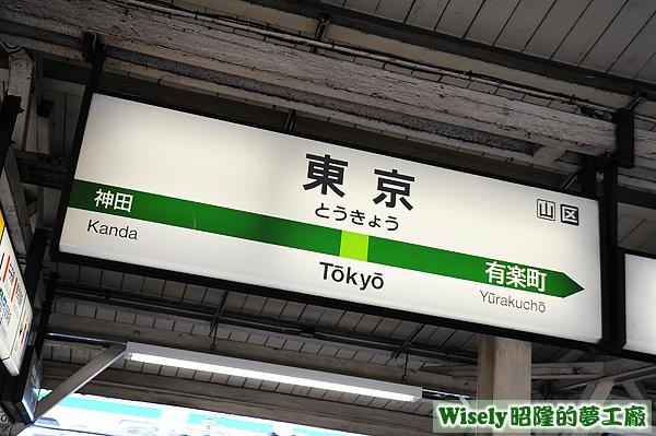 JR山手線(東京駅)